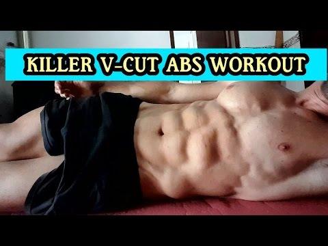 Killer V Cut Abs Workout Youtube