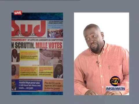 revue de presse de Fabrice Nguéma du 23 juin 2017