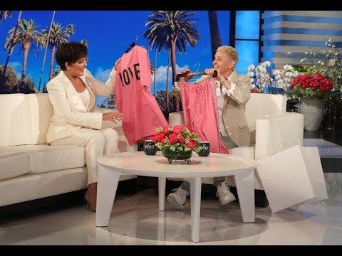 Ellen Gets Kris Jenner Ready to Deliver Her Next Grandchild