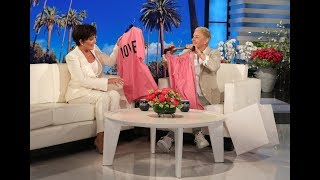 Ellen Gets Kris Jenner Ready to Deliver Her Next Grandchild