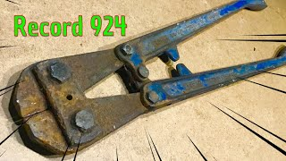 Rusty Heavily Pitted Bolt Cutter/Cropper Restoration