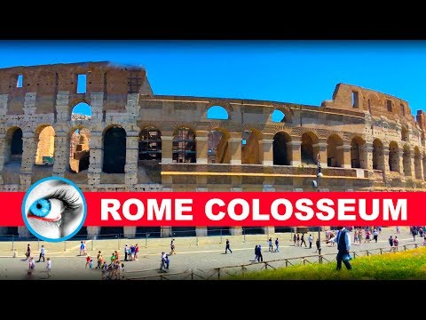 COLOSSEUM - ROME - ITALY - 4K 2017 - TRAVEL GUIDE