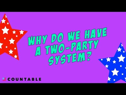 The Two-Party System: Why Do We Have One?