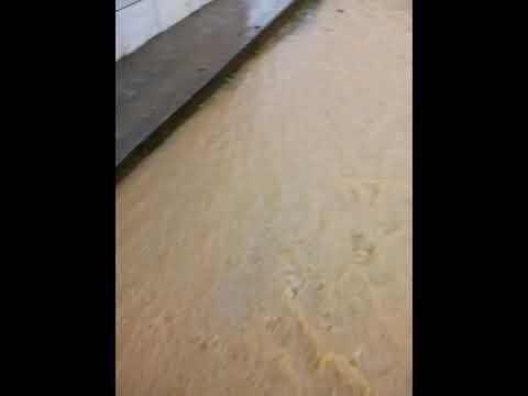 Chuva forte em Santa Terezinha MG