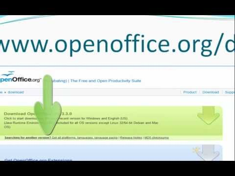 How To Download And Install Open Office--Updated January 2012