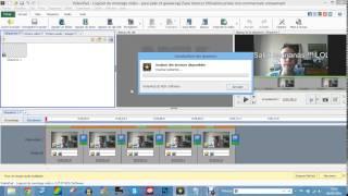 je n'arrive pas a enregistrer correctement une vidéo avec VideoPad ! aidez moi !!