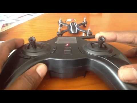 Hubsan x4 : how to change mode 2 tx to mode 1 layout and vi