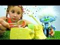 Мультик с игрушками Тролли алмаз в подарок Розочке mp3