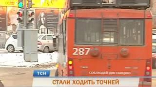 Общественный транспорт в Перми стал ходить точней