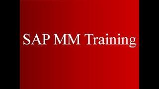 SAP MM de Formation de Marchandises (Vidéo 29) | SAP MM de la Gestion du Matériel
