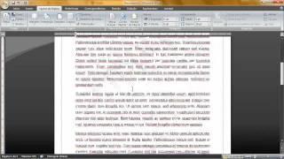 Editando / formatando / arrumando texto para trabalhos / empresas no Word 2007 thumbnail