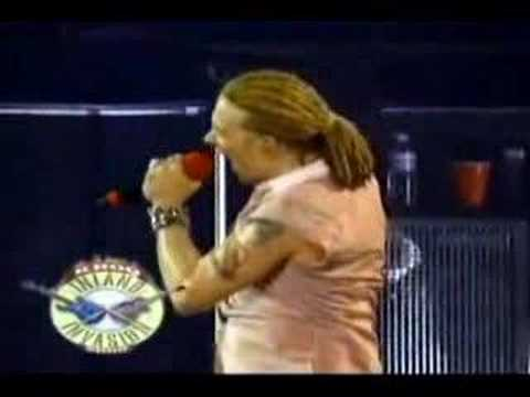 Axl Rose + Sebastian Bach Duo Inland Invasion