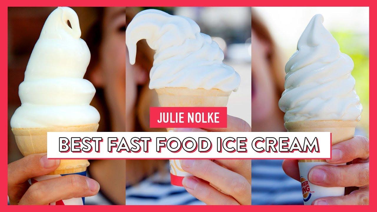 The Hunt For The Best Fast Food Soft Serve | Julie Nolke