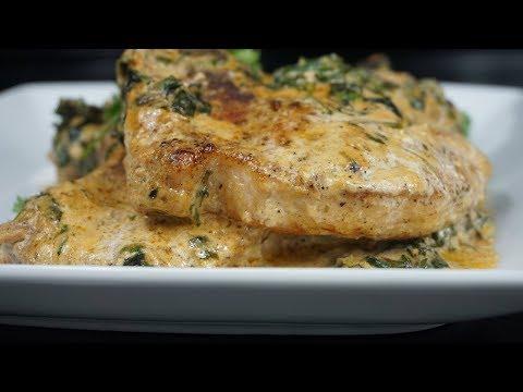 How To Make Creamy Garlic Pork Chops! The Most Delicious Pork Chops!