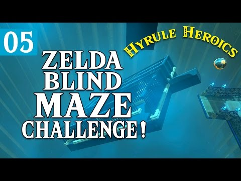 Zelda BOTW VS Uncharted - BLIND MAZE! - Hyrule Heroics