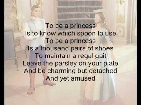 To be a Princess- Barbie as the Princess and the Pauper w/ Lyrics