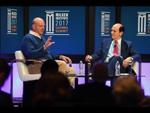 A Conversation with Steve Ballmer