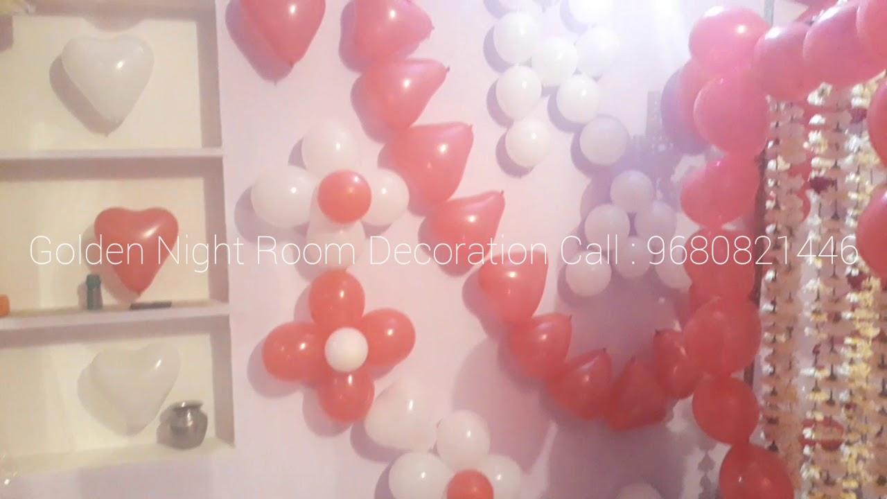 Golden Night Room Decoration Youtube