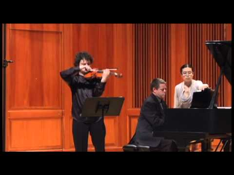 Yevgeny Kutik plays Cesar Franck - Sonata in A Major, 2nd mov