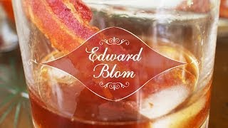 den perfekta frukostdrinken   bacon old fashioned med edward blom