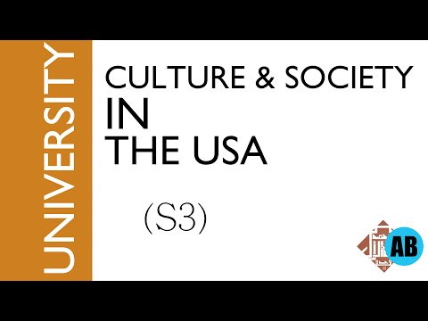 #10 CULTURE AND SOCIETY IN THE USA (S3)- part1- The social structure
