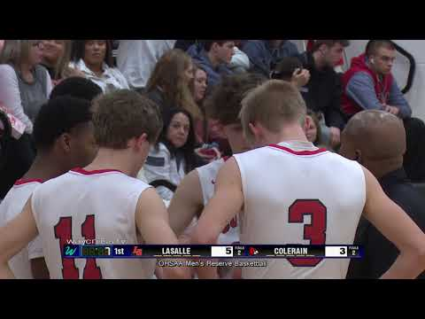 LaSalle vs. Colerain High School Men's Reserve Basketball - January 5, 2019