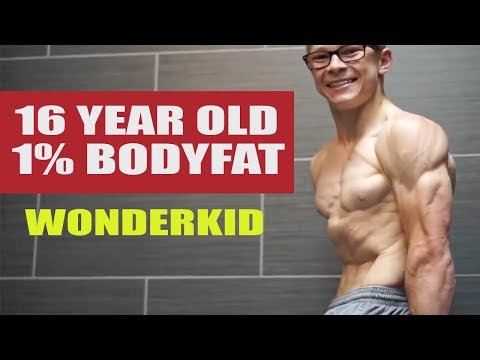 WONDERKID- 16 year old with 1% body fat
