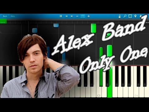 Alex Band - Only One [Piano Tutorial] Synthesia