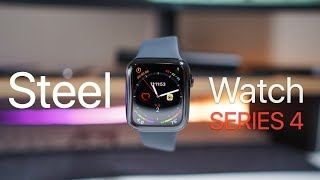 Steel Apple Watch Series 4 - Unboxing, Setup and First Look
