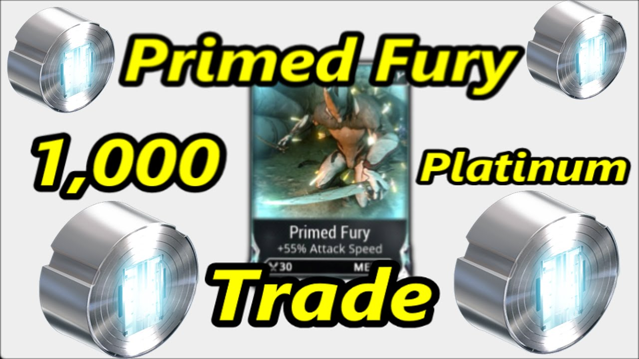 warframe how to get primed fury