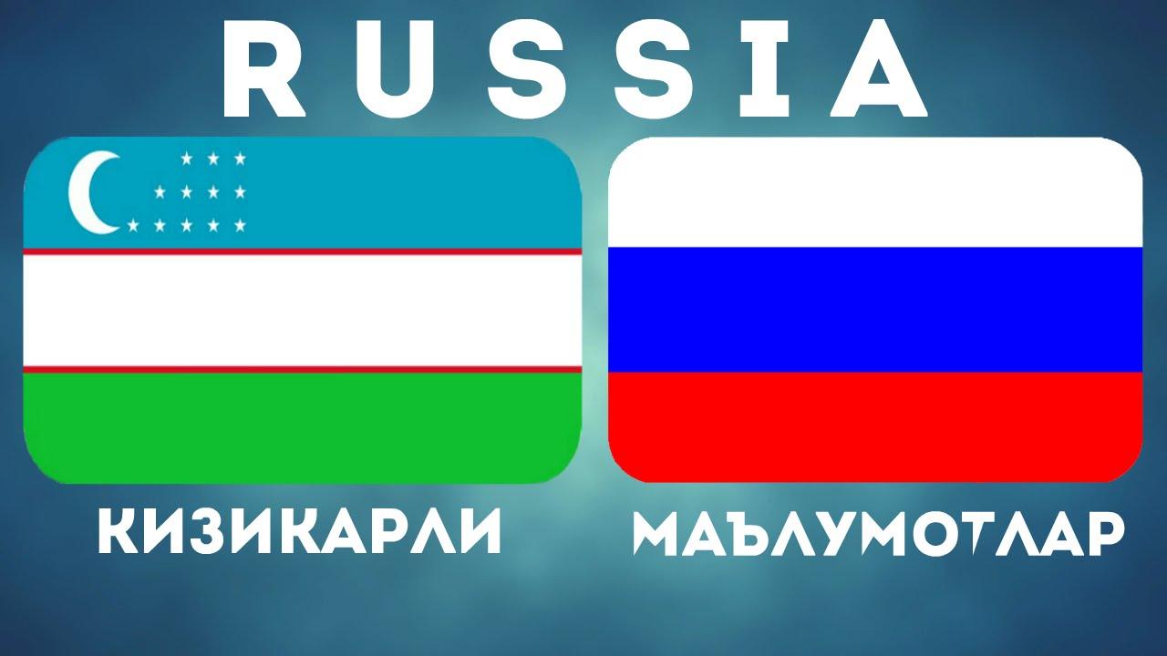 РОССИЯ — КИЗИКАРЛИ МАЪЛУМОТЛАР / RUSSIA / ROSSIYA