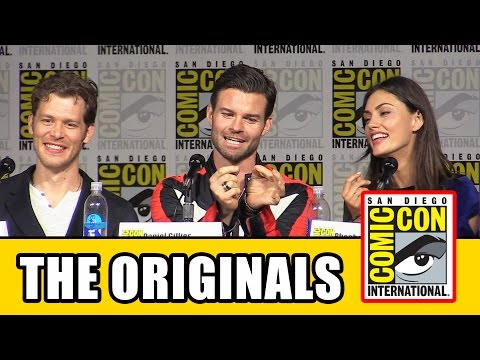The Originals Comic Con 2015 Panel  Joseph Morgan, Danielle Campbell, Daniel Gillies, Phoebe Tonkin