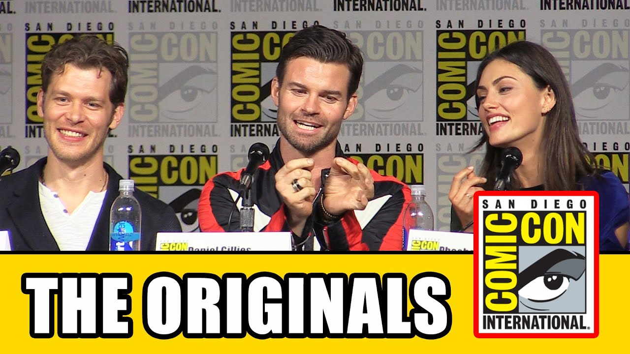 The Originals Comic Con 2015 Panel Joseph Morgan Danielle Campbell Daniel Gillies Phoebe Tonkin
