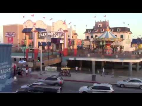Visit to Galveston Texas and Pleasure Pier