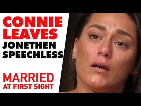 Connie Leaves Jonethen 'speechless' With Her Shock Decision | MAFS 2020