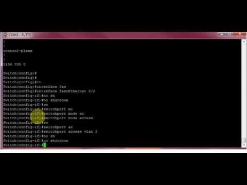 Configure Cisco Management VLAN - Assigning IP Address to VLAN LAN