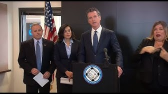 WATCH LIVE: California governor and state officials provide update on coronavirus response