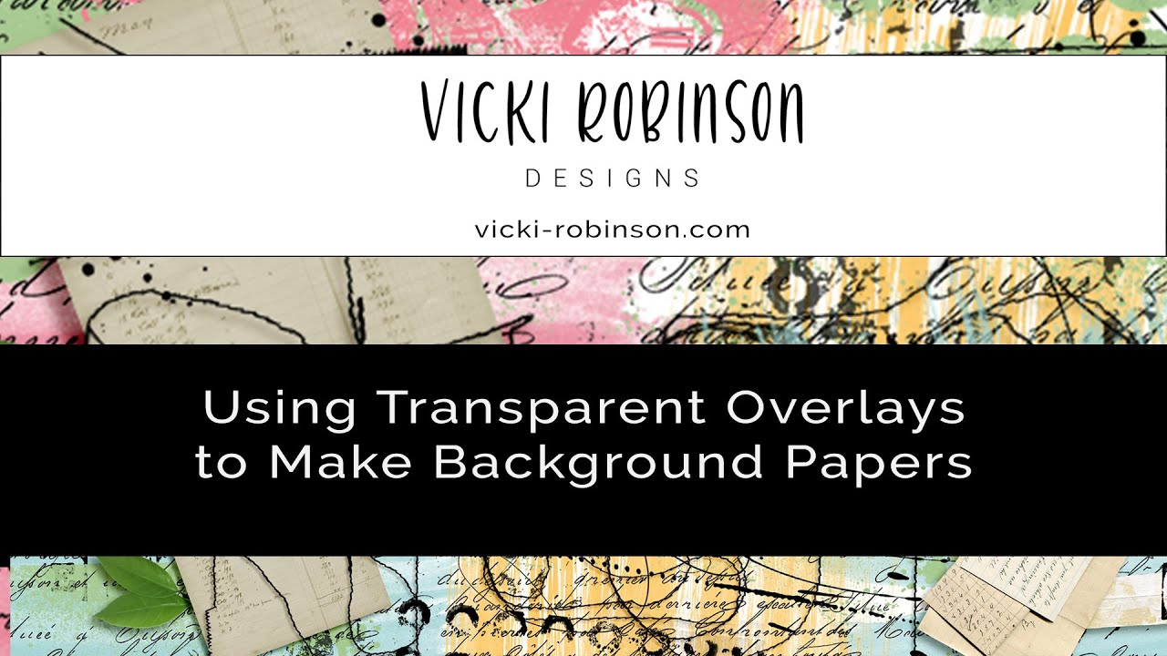 Using Transparent Overlays to Make Digital Backgrounds in Photoshop