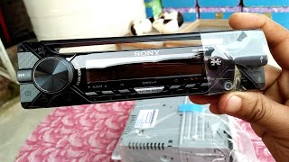 Unboxing Sony CDX-G1200U CD Player