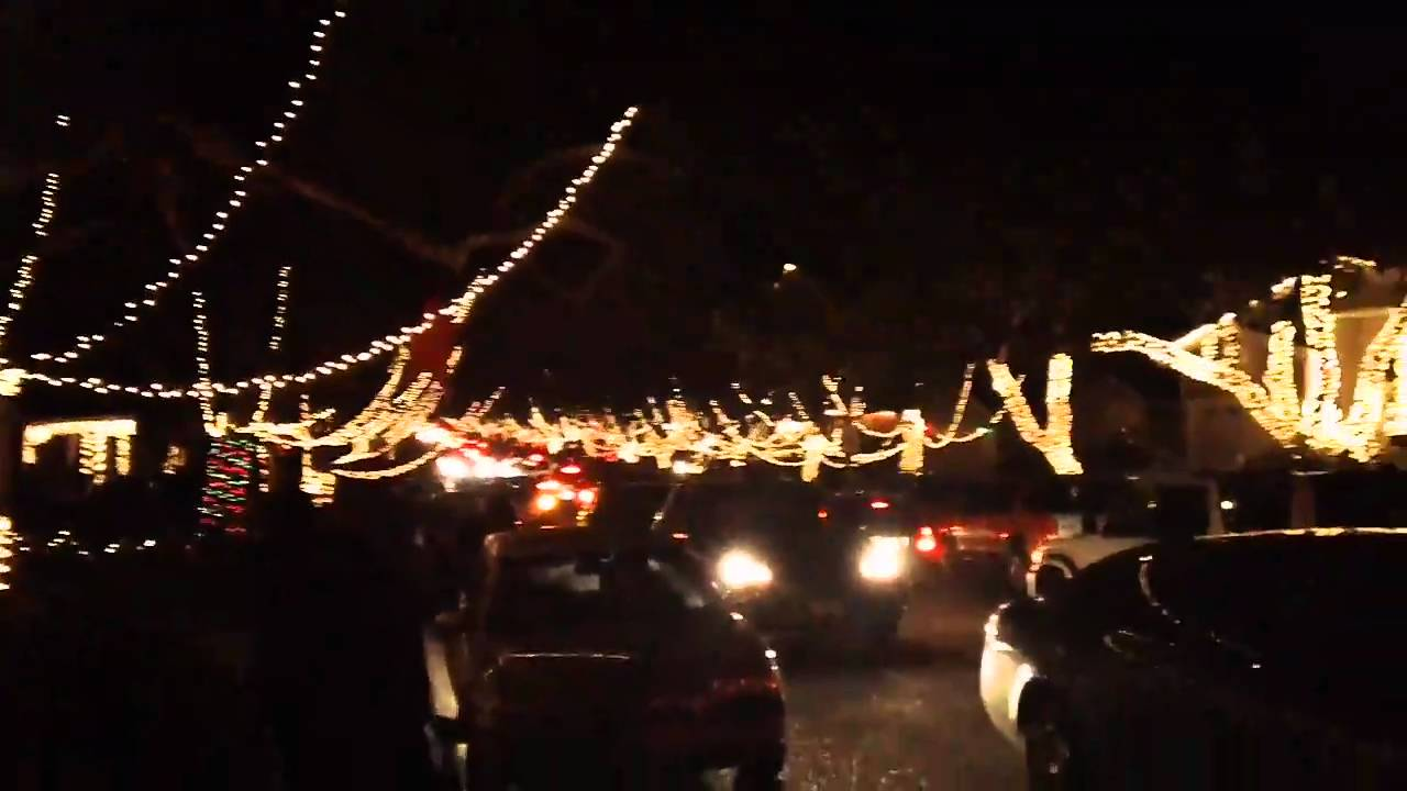 Candy Cane Lane Torrance Ca
