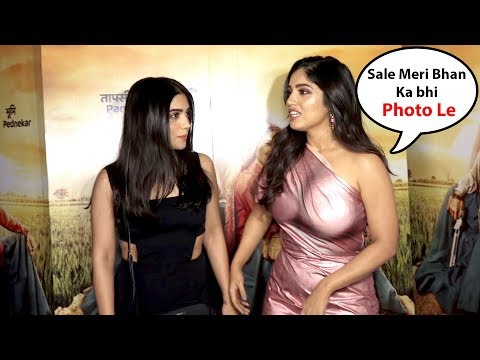 Bhumi pednekar With Her H0T Sister Samiksha  For her  Upcoming Bollywood Film