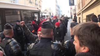 Paris France 11:11:2013 Incident sur les Champs Elysees, 70 interpellations