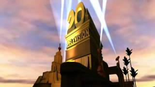 2010 20th Century Fox Television and 20th Television logos in blender