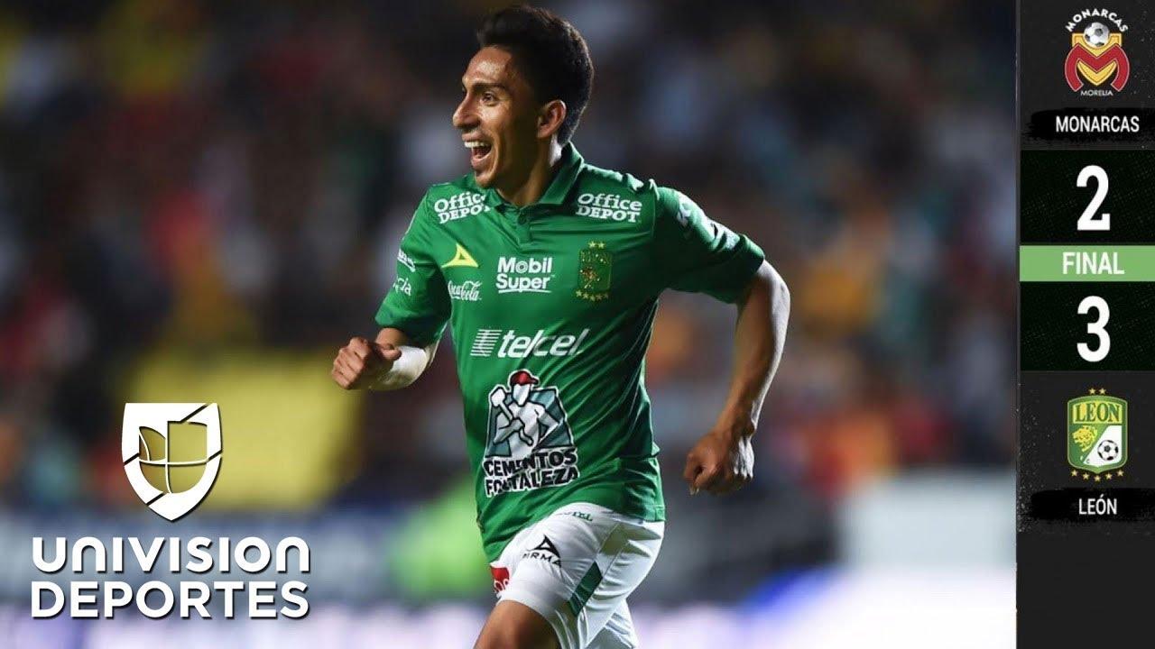 Morelia 2 3 León Resumen Y Goles Clausura 2019 Liga Mx