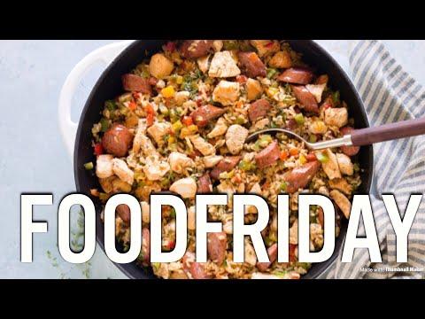 Food Friday| Smoky Chicken & Sausage Rice Skillet