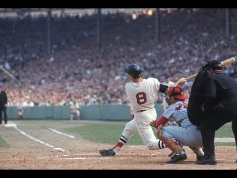 CARL YASTRZEMSKI YAZ Career Replay 1961 Game #10 vs Washington Senators (2 of2) IP Baseball