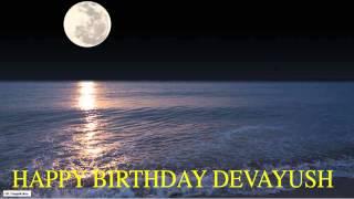 Devayush  Moon La Luna - Happy Birthday