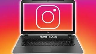Upload Photo on Instagram using Computer or Laptop [HINDI]