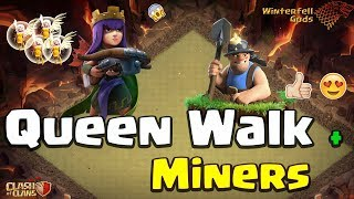 Clash Of Clans - Town Hall 11 3-star - Queen Walk, Miners - Dracarys vs #1