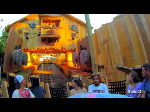 Popeye White-water Rapids Ride at Islands of Adventure - Universal Orlando